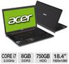 ACER AS8951G9600 i72630QM/8/750/B/W7H/18.4 NB BK -- A180-184301 RF - Image