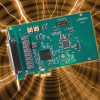 PCI Express Card with Eight Isolated Inputs, Eight Relay Outputs, and Change of State Detection -- PCIe-IIRO-8 - Image