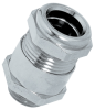 Nickel-Plated Brass Strain Relief Cable Glands with Sealing Capability up to 300ft (10 Bar), Metric Thread -- SKINDICHT® SHV-M - Image
