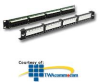 ICC Category 5e, 24 Port Patch Panel with Front Access - 1.. -- ICMPP24F5E