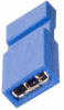 2 Pos. Female Jumper Socket, Handle Shunt, Blue -- M50-2030005 -- View Larger Image
