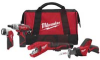 M12 Cordless Kit with Screwdriver, Copper Tubing Cutter, HACKZALL, and Work Ligh -- 70060042