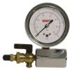 Air Test Assembly Gauge with Shutoff Valve -- IWTG-NYC - Image