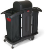 Rubbermaid 9T78 High Security Housekeeping Cart -- RM-9T78