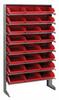 Bins & Systems - 4'' Shelf Bins (QSB Series) - Sloped Shelving Units - Single Sided Pick Racks - QPRS-109 - Image