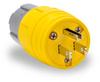 15A Electrical Plug: watertight, straight blade, NEMA 5-15 -- 14W47BRY