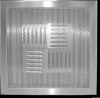Stainless Steel Perforated Supply Grille -- SSPERF-S - Image
