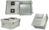18x16x8 Inch 120 VAC Weatherproof Enclosure with Power Saver Solid State Fan Controller -- NB181608-10FSX -Image