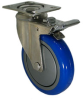 Stainless Swivel Caster with Total Locking Brake - Model 3A -- SS-3ABP4-SML