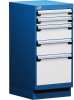 Stationary Compact Cabinet with Partitions -- L3ABG-3415C -Image