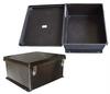"18x16x8"" UL® Listed Black Weatherproof Industrial NEMA Enclosure -- NBB181608 -- View Larger Image"