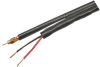 500' RG59/U Coaxial Cable w/ 20 Gauge Power Wire, Black -- 72-065