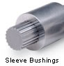 Flanged Bushing for Spline Bar -- FB-0750-16-2