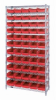 Bins & Systems - 4'' Shelf Bins (QSB Series) - Wire Shelving Units - WR12-106 - Image