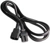 3ft IEC C14 to C15 14/3 SJT Power Cord -- SF-3220-03B-14 - Image