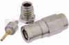SMB Plug Connector Clamp/Solder Attachment for RG178, RG196 -- PE4250 -Image