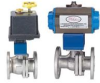 DWYER BV2U1507F1 ( SERIES BV2 AUTOMATED BALL VALVES - TWO - PIECE SS FLANGE ) -- View Larger Image