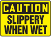 Caution Slippery When Wet Sign -- SGN641 - Image