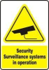 Accuform Security Signs Surveillance Systems -- sf-19-805-232