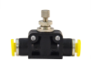Clippard PQ Flow Controls Series - In-Line (Meter In or Meter Out) -- PQ-FV06M -Image