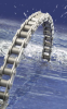 Corrosion Resistant  Roller Chain -- Renold Hydro-Service - Image