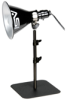 TABLETOP/BACKGROUND STAND: 18 IN. TELESCOPING TUBE WITH BASE PLATE -- 700201