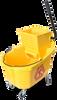 Industrial Wringer Bucket - 32-Quart Side Press -- 8013