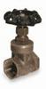 Bronze gate valve; 1