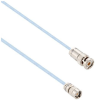 Lead Free High Temp 1553 Twinax Cable Assembly Submin Plug-Trb 3 Slot Plug 1 Meter -- MSA00456-1M -Image