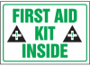 First Aid Kit Inside Label -- SGN431