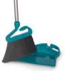 Snap Broom - Small w/ Attached Dust Pan -- 8388