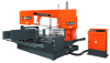 100 Job Programmable Double Miter Band Saw -- CNC-800DM