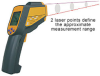 Series 420 Dual-Laser Portable Infrared Thermometer -- TN425LE