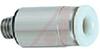Fitting, mini hex socket head male, M3x.5 thread, for 4mm OD tube -- 70071905 - Image
