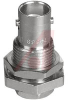 connector,rf coaxial,bnc blkhd jack,clamp/solder,for rg58,141,142,400,50 ohm -- 70142587 - Image
