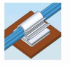Cable Clip Adhesive Gray PVC -- 78042998774-1