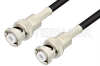 MHV Male to MHV Male Cable 12 Inch Length Using RG58 Coax -- PE3516-12 -Image