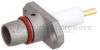 BMA Plug Slide-On Connector Stub Terminal Solder Attachment 2 Hole Flange , .481 inch Hole Spacing With Cylindrical Contact -- FMCN1226 -Image