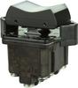 TP Series Rocker Switch, 4 pole, 3 position, Screw terminal, Flush Panel Mounting -- 4TP1-7 -Image