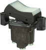 TP Series Rocker Switch, 1 pole, 2 position, Screw terminal, Flush Panel Mounting -- 1TP1-8 -Image