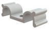 Cable Clamps - Dual Half U, Screw Mount -- DHURCS-2-01 -- View Larger Image