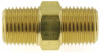 """1/8"""" NPT Pipe Threaded Nipple Fitting -- MPA-18M18M -- View Larger Image"""