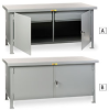 LITTLE GIANT Heavy-Duty Cabinet Workbenches -- 1421300