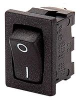 ILLUM ROCKER SWITCH,SPST,ON-OFF,10A -- 06WX0661 - Image