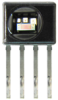 Honeywell HumidIcon™ Digital Humidity/Temperature Sensor: HIH6100 Series, I2C, ±4.0 %RH accuracy, SIP 4 Pin, without filter, five units on tape (sample) -- HIH6120-021-001S