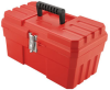Akro-Mils Probox Red Tool Box - 12 in Overall Length - 6 in Width - 4 in Height - Lockable - Tray Not Included - 09912 -- 09912
