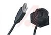 CABLE USB A RCPT BKHEAD-PLUG 2M -- 70090727 - Image