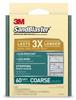 3M SandBlaster Silicon Carbide Sanding Sponge 60 Grit - 2 3/4 in Width x 4 in Length - 50695 -- 051111-50695 - Image
