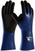 PIP ATG MaxiDry Plus 56-530 Black/Blue Small Lycra/Nitrile Supported Chemical-Resistant Gloves - 12 in Length - 616314-79634 -- 616314-79634