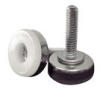 Stud Mount Leveling Feet - Plastic Rigid Base -- AFB1020A -- View Larger Image